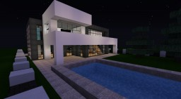 ►Modern Family Home◄ (with interior & garden) Minecraft Map & Project