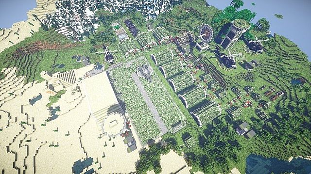 Military Base (WarStuff mod) Minecraft Project