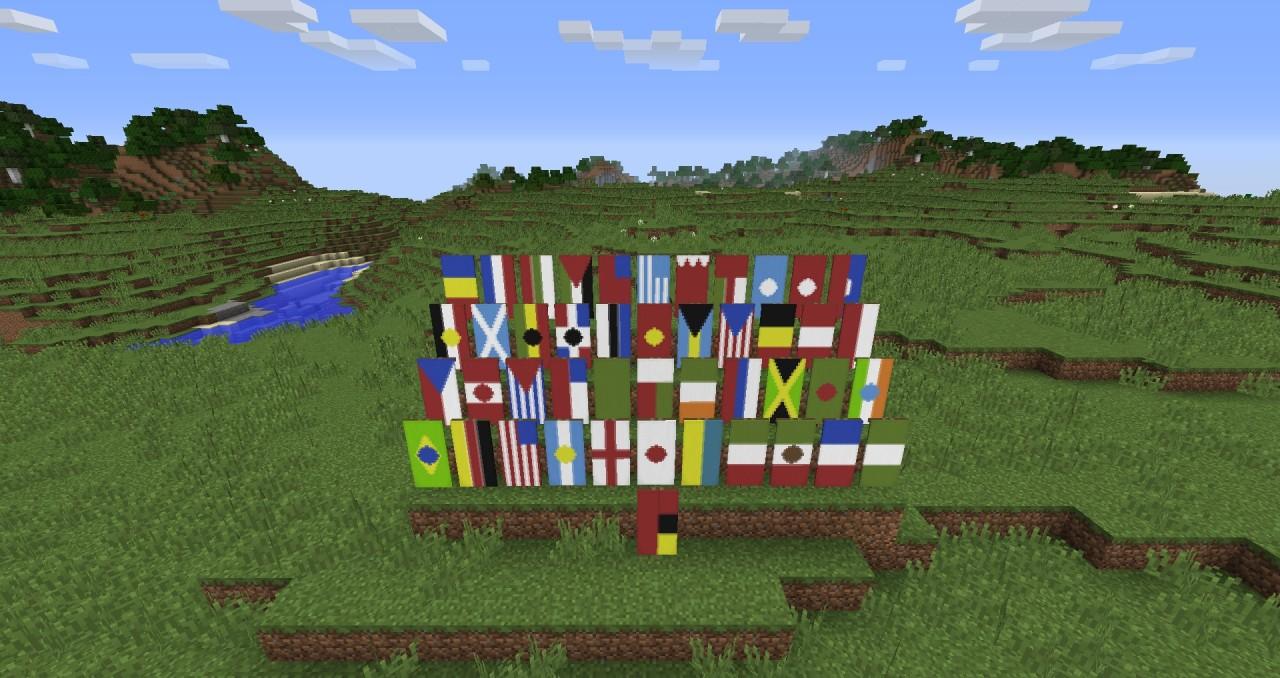 Bahrain Flag Minecraft Banner
