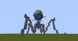 Octuptarra Magni-Tri Droid Minecraft Map & Project