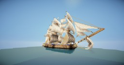 L'Hermione | French frigate Minecraft Project