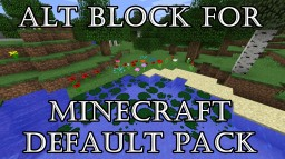 [1.8] ALT Block For Default Pack Minecraft Texture Pack