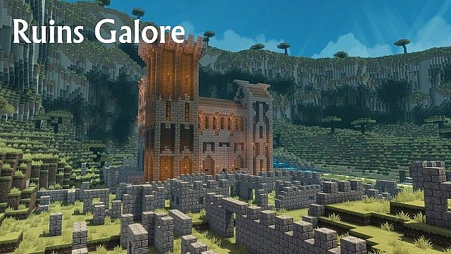 Abandoned ruins make for close-quarters combat.