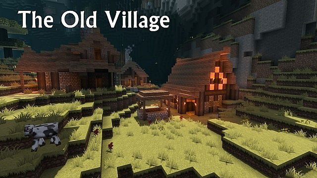 The small village is full of hiding spots and secrets.