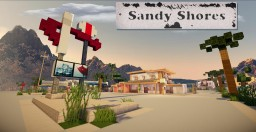 Sandy Shores - GTA 5 - A minecraft recreation Minecraft Project