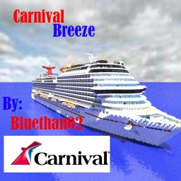 Carnival Breeze [ 1:1 Scale Replica|Full Interior|Pop Real!]