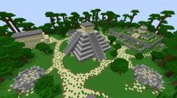 Chichen Itza in Minecraft