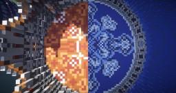 TNT-run: Fire&Water Minecraft Map & Project