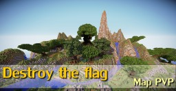 Destroy the flag map 1.7.2 Minecraft Map & Project