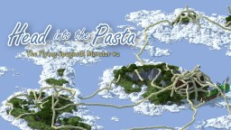 Flying Spaghetti Monster - Head into the Pasta Contest Entry [23rd Place] Minecraft Map & Project
