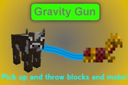 [Plugin] Gravity Gun Minecraft Mod