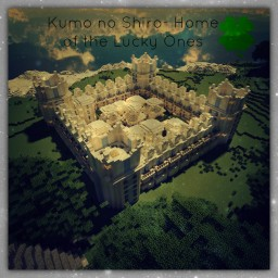 Kumo no Shiro- Home of the Lucky Ones (Head into the Clouds Contest Entry!) [46th!!] Minecraft Map & Project
