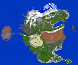 The Elder Scrolls - Tamriel / Apterra [A huge Survival, Roleplay, Adventure Map] Minecraft Map & Project