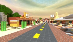 Radiator Springs - Disney Cars Minecraft