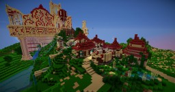 Riverside Town Minecraft