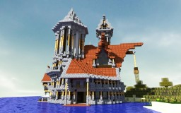 Night's At The Round House:Medieval house Minecraft Map & Project