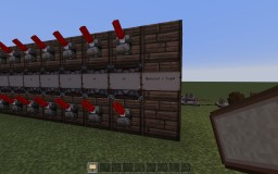 Redstone subtractor Minecraft Map & Project