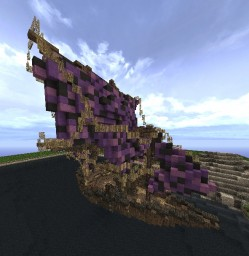 Fantasy Ship Minecraft