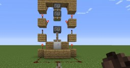 How To: Make A Guillotine in Minecraft Minecraft Blog