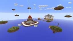Server Spawn ''islands'' Minecraft Map & Project