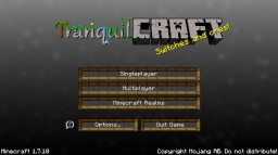 TranquilCraft 16x 1.7.10 [NOW WITH 1.8 SUPPORT] Minecraft Texture Pack