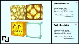 Cinema 4D - Minecraft Lamp-Pack v.1 Minecraft Blog Post
