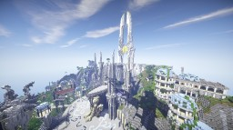 "Iduna - Angelic City [""Head into the Clouds Entry""] Minecraft"