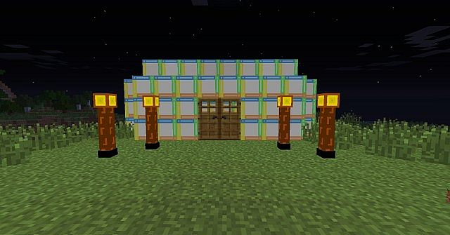 House and Lamps