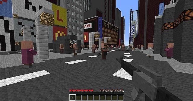 Мод на Оружие для Minecraft 1.7.10