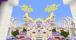Arcade hub with lobbies Minecraft