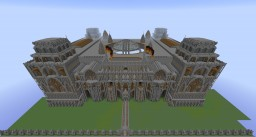 1940's German Governmental Building Minecraft Map & Project