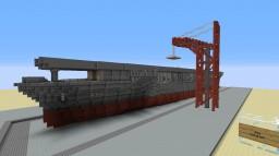 USS Enterprise CV-6      [under construction] Minecraft Map & Project