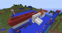 A new version of Wipeout in Minecraft Minecraft Map & Project