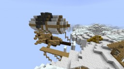 The Mysterious Remains of the Floating Island Minecraft Map & Project