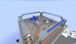 PvP Server Drop Down Spawn / Platform Minecraft Map & Project