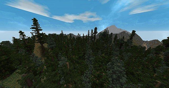 mountainous terrain world edit build minecraft project