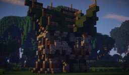Old Medival Style house 1# Minecraft Map & Project