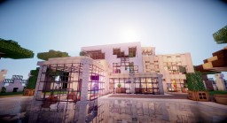 The House Of The Architect (my first modern house) Minecraft