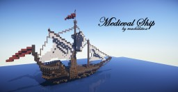 medieval ship   by machelittox Minecraft Map & Project