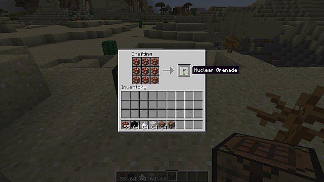 Nuclear Grenade Crafting Recipe