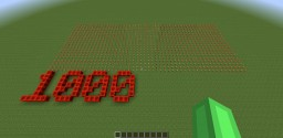 One THOUSAND torches (redstone upgrade) Minecraft