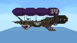 The Lady Jessica (My first airship) Minecraft Map & Project