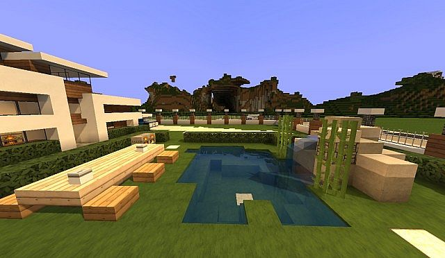 Modern House 2 Minecraft Project
