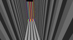 Rainbow Run Minecraft Map & Project