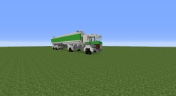 Green Oil Truck Minecraft Map & Project