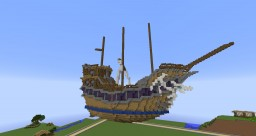 Fantasy Ship (Unfinished) Minecraft Project