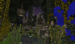 Old medieval spooky house Minecraft