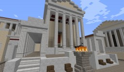Temple of Caesar Minecraft Map & Project