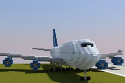 Boeing 747 | ECS Minecraft Map & Project