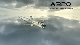 Airbus A320 Minecraft Map & Project